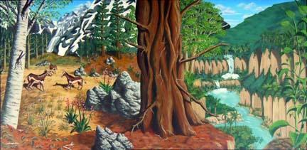 Paleogene depiction - artwork