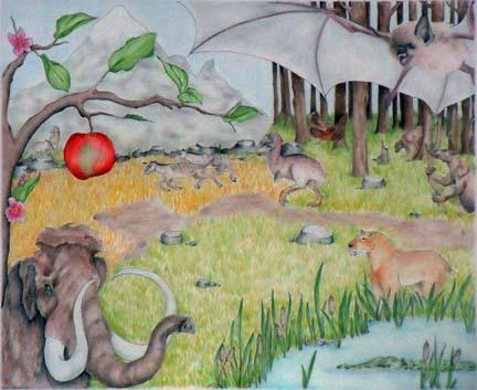 Neogene depiction - artwork