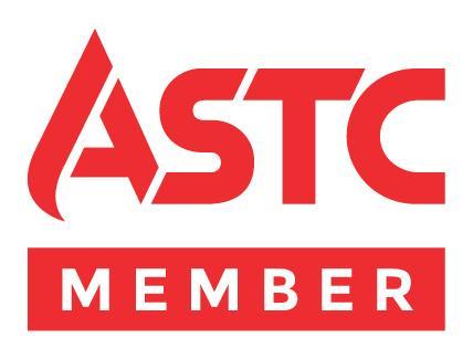 Logo for ASTC organization