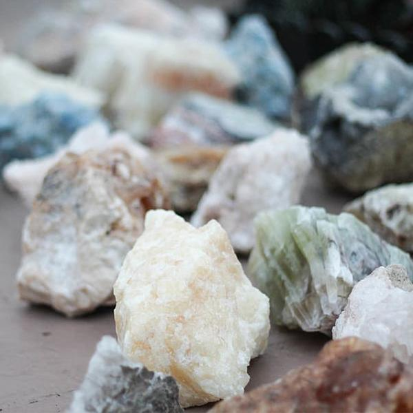 Photo of an assortment of different types of rocks